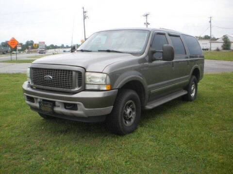 2003 Ford Excursion Limited for sale at J R Jackson Auto Sales in Somerset KY