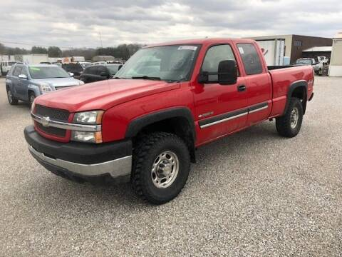2004 Chevrolet Silverado 2500HD LT for sale at J R Jackson Auto Sales in Somerset KY