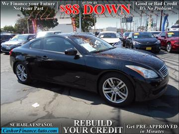 2008 Infiniti G37 for sale at Cash or Finance Auto in Bellflower CA