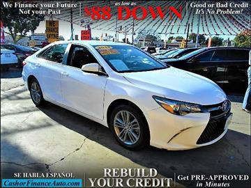 2015 Toyota Camry for sale at Cash or Finance Auto in Bellflower CA