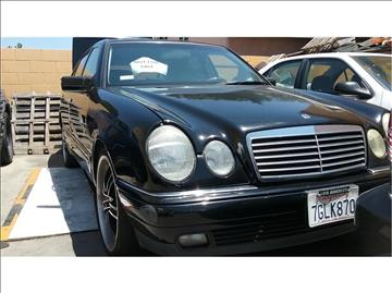 1999 Mercedes-Benz E-Class for sale at Cash or Finance Auto in Bellflower CA