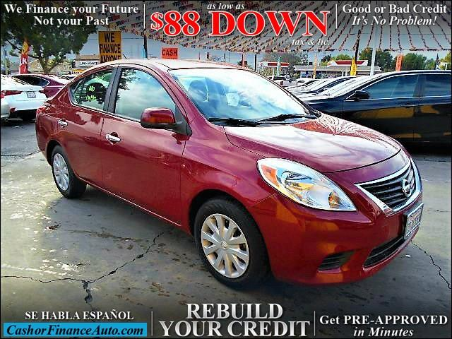 2012 Nissan Versa for sale at Cash or Finance Auto in Bellflower CA