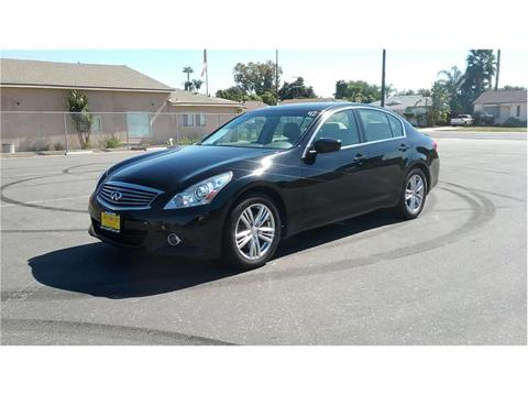 2013 Infiniti G37 Sedan for sale at Cash or Finance Auto in Bellflower CA