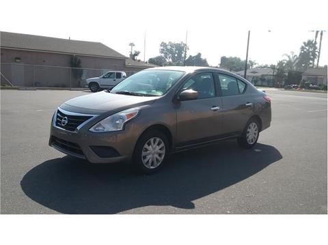 2017 Nissan Versa for sale at Cash or Finance Auto in Bellflower CA