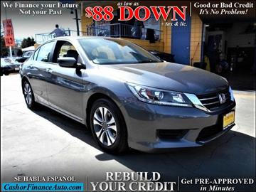 2014 Honda Accord for sale at Cash or Finance Auto in Bellflower CA