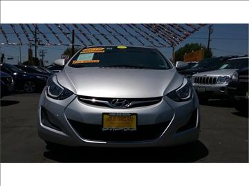 2016 Hyundai Elantra for sale at Cash or Finance Auto in Bellflower CA