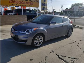 2016 Hyundai Veloster for sale at Cash or Finance Auto in Bellflower CA
