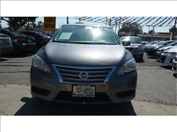 2015 Nissan Sentra for sale at Cash or Finance Auto in Bellflower CA