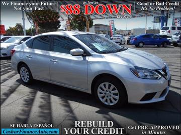 2016 Nissan Sentra for sale at Cash or Finance Auto in Bellflower CA