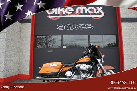 2005 Harley-Davidson Electra Glide for sale at BIKEMAX, LLC in Palos Hills IL