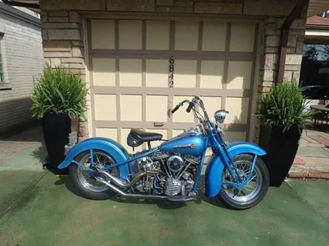1948 Harley-Davidson FL Springer