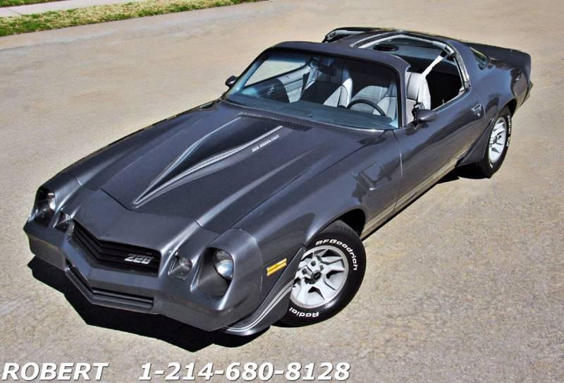 Chevrolet Camaro Z In Dallas TX Mr Old Car - Old car images