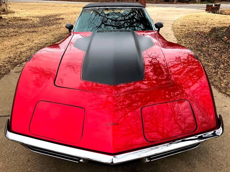 1971 Chevrolet Corvette for sale at Mr. Old Car in Dallas TX