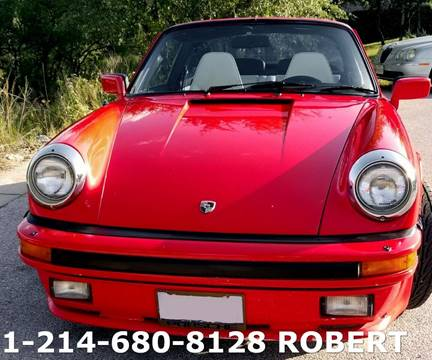 1983 Porsche 911 for sale in Dallas, TX