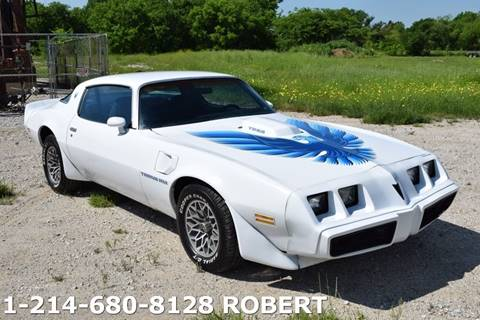 1980 Pontiac Trans Am for sale in Dallas, TX