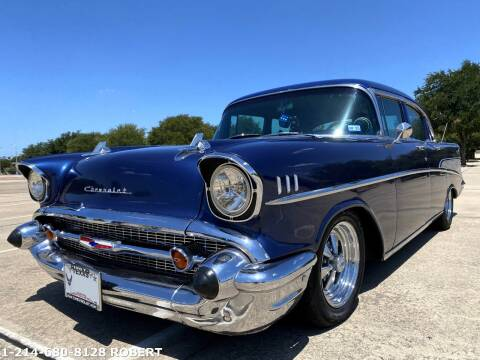 1957 Chevrolet Bel Air for sale at Mr. Old Car in Dallas TX