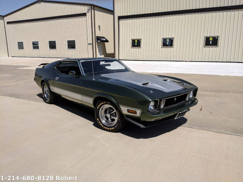 1973 Ford Mustang for sale at Mr. Old Car in Dallas TX