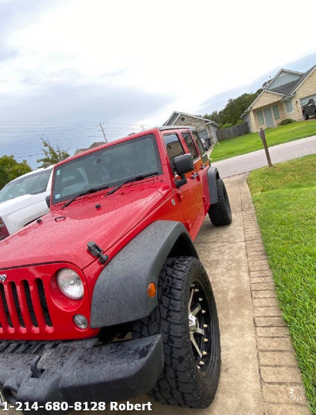 2014 Jeep Wrangler Unlimited for sale at Mr. Old Car in Dallas TX