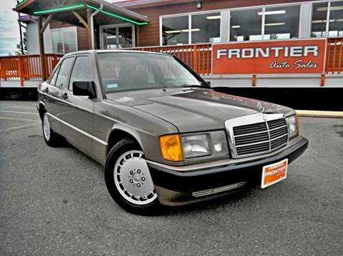 1989 Mercedes-Benz 190-Class for sale in Anchorage, AK