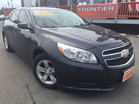 2013 Chevrolet Malibu for sale at Frontier Auto Sales in Anchorage AK