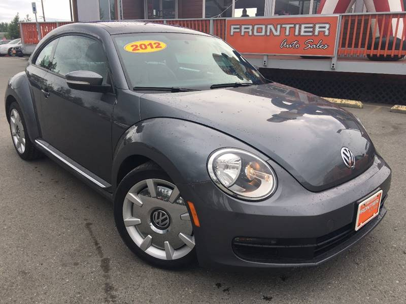 2012 Volkswagen Beetle for sale at Frontier Auto Sales in Anchorage AK