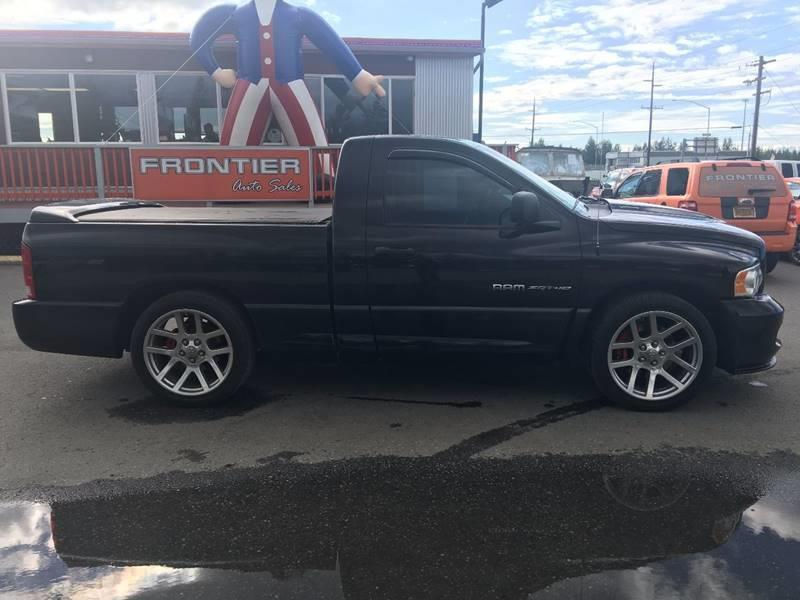 2004 Dodge Ram Pickup 1500 SRT-10 for sale at Frontier Auto Sales in Anchorage AK