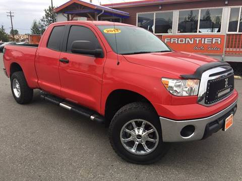 2013 Toyota Tundra for sale at Frontier Auto Sales in Anchorage AK