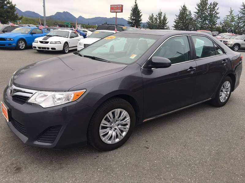 2014 Toyota Camry for sale at Frontier Auto Sales in Anchorage AK