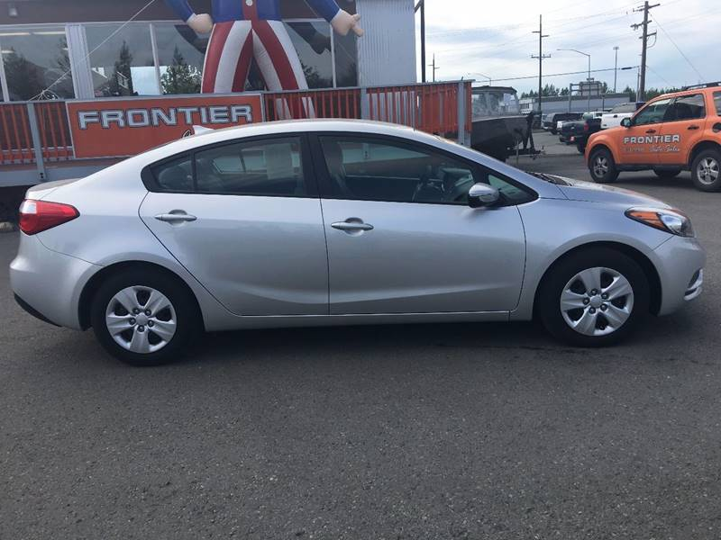2015 Kia Forte for sale at Frontier Auto Sales in Anchorage AK