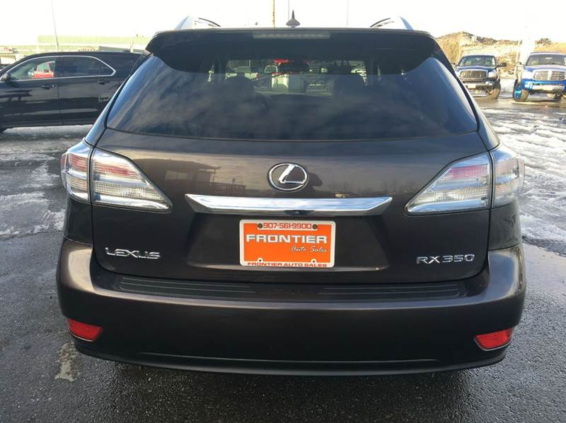 2010 Lexus RX 350 for sale at Frontier Auto Sales in Anchorage AK