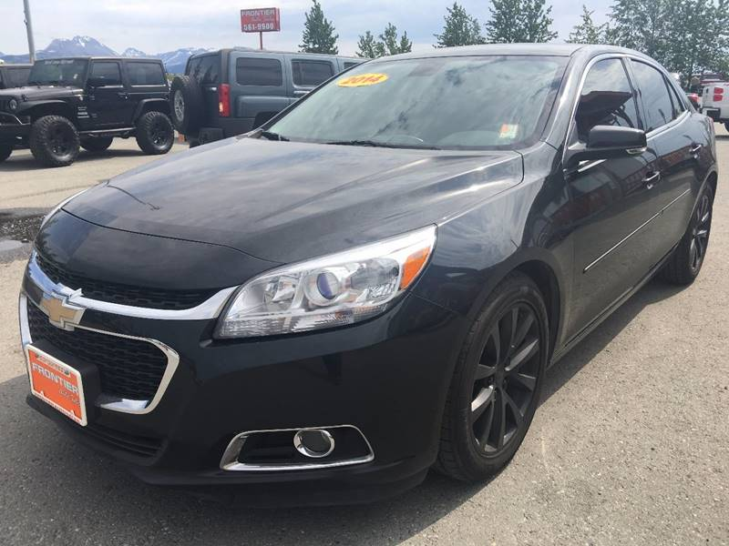 2014 Chevrolet Malibu for sale at Frontier Auto Sales in Anchorage AK