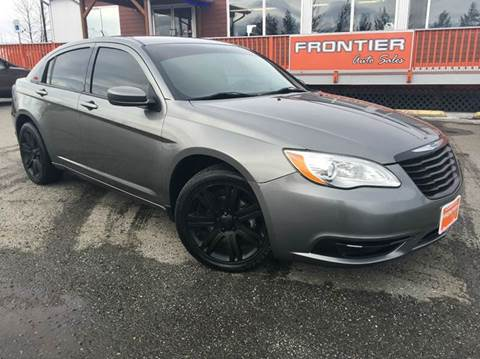 2013 Chrysler 200 for sale at Frontier Auto Sales in Anchorage AK
