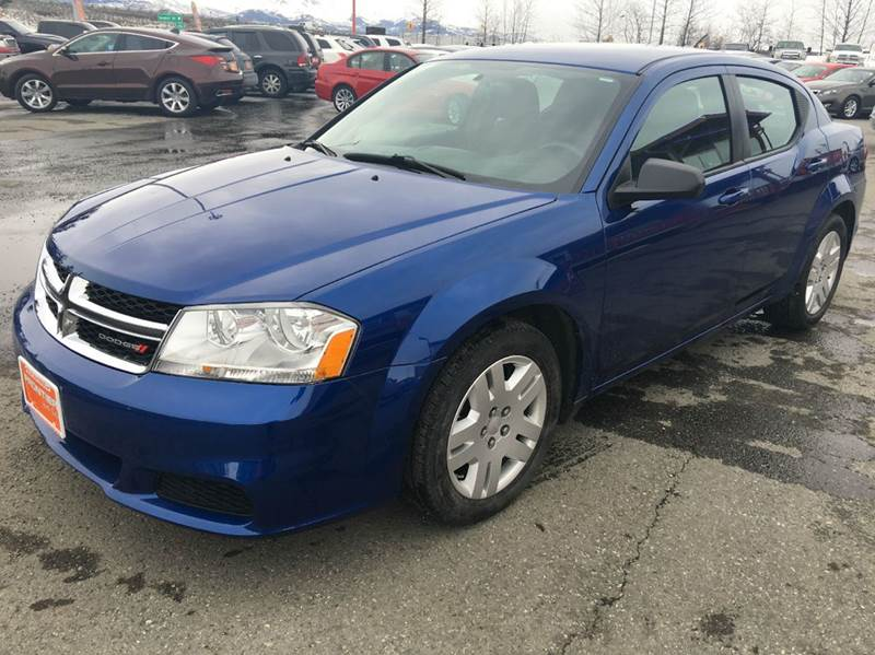 2014 Dodge Avenger for sale at Frontier Auto Sales in Anchorage AK