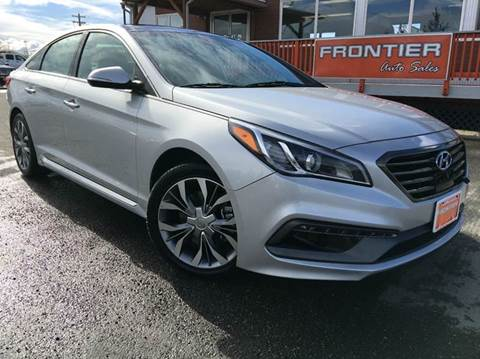 2015 Hyundai Sonata for sale at Frontier Auto Sales in Anchorage AK