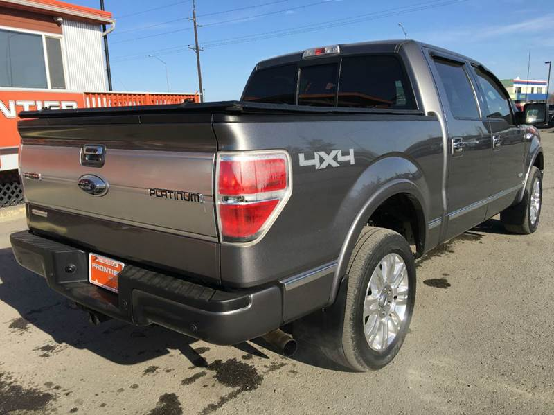 2012 Ford F-150 for sale at Frontier Auto Sales in Anchorage AK