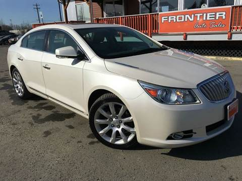 2010 Buick LaCrosse for sale at Frontier Auto Sales in Anchorage AK