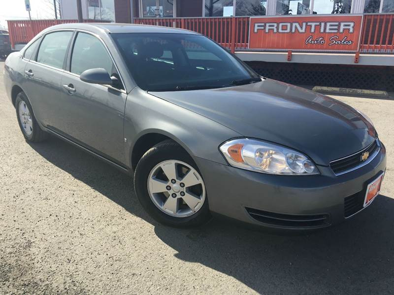 2008 Chevrolet Impala for sale at Frontier Auto Sales in Anchorage AK
