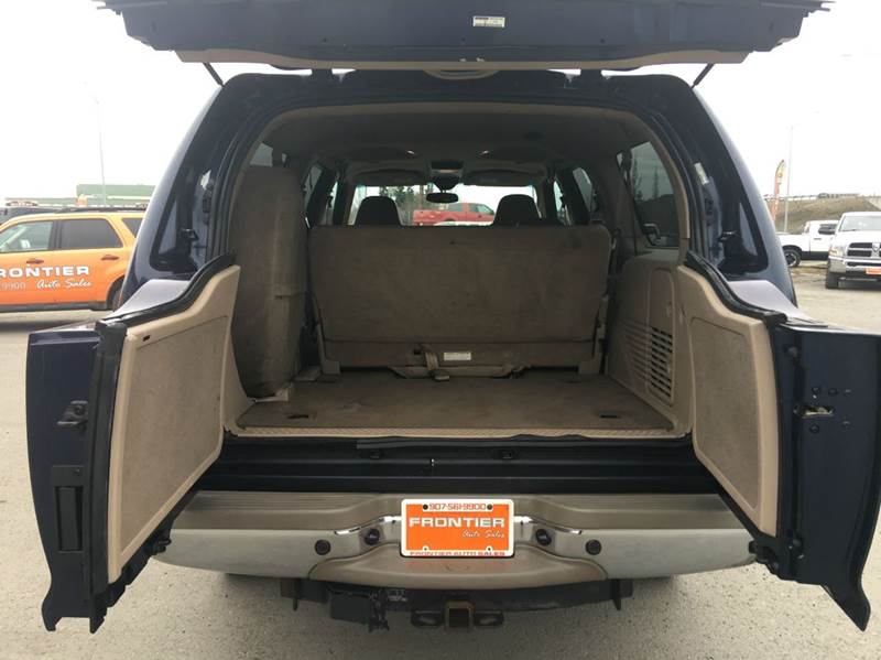 2002 Ford Excursion for sale at Frontier Auto Sales in Anchorage AK