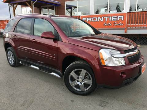 2008 Chevrolet Equinox for sale at Frontier Auto Sales in Anchorage AK