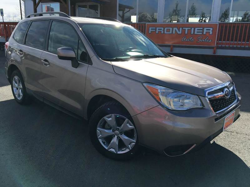 2015 Subaru Forester for sale at Frontier Auto Sales in Anchorage AK