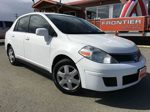 2007 Nissan Versa for sale at Frontier Auto Sales in Anchorage AK