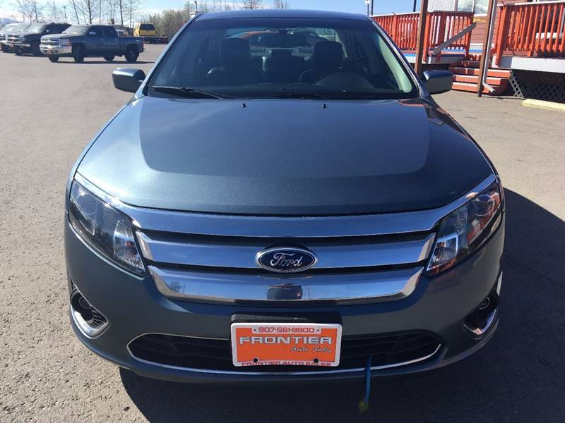 2011 Ford Fusion for sale at Frontier Auto Sales in Anchorage AK