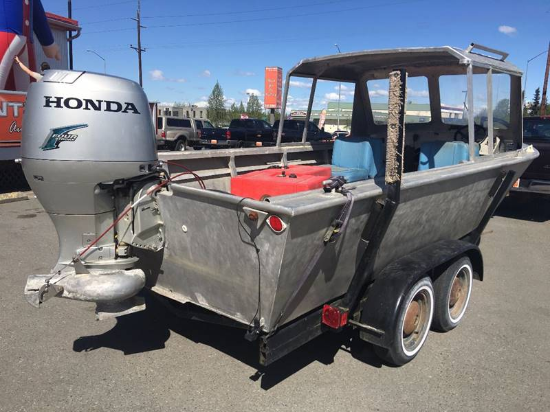"""2005 3/16"""" Custome Built Aluminum 20' Aluminum Boat for sale at Frontier Auto Sales in Anchorage AK"""