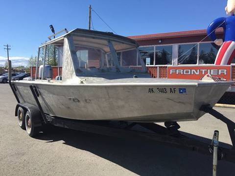 "2005 3/16"" Custome Built Aluminum 20' Aluminum Boat for sale at Frontier Auto Sales in Anchorage AK"