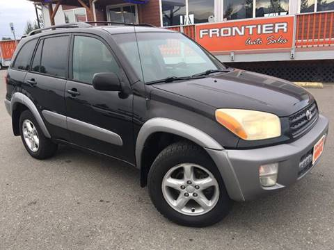 2001 Toyota RAV4 for sale at Frontier Auto Sales in Anchorage AK