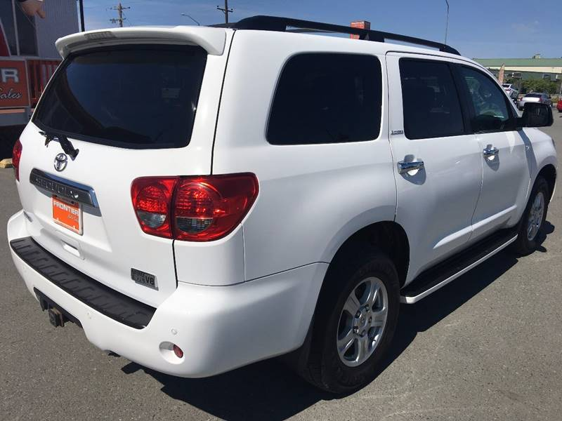 2008 Toyota Sequoia for sale at Frontier Auto Sales in Anchorage AK