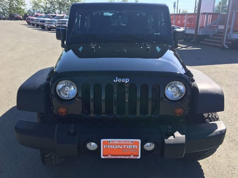 2013 Jeep Wrangler for sale at Frontier Auto Sales in Anchorage AK