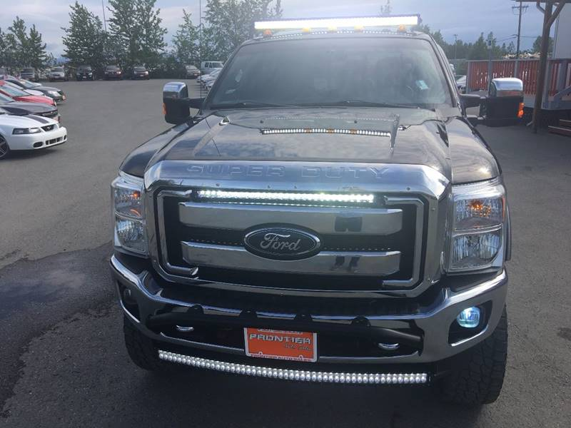2012 Ford F-250 Super Duty for sale at Frontier Auto Sales in Anchorage AK