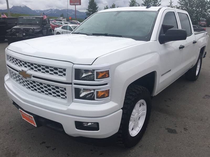 2014 Chevrolet Silverado 1500 for sale at Frontier Auto Sales in Anchorage AK