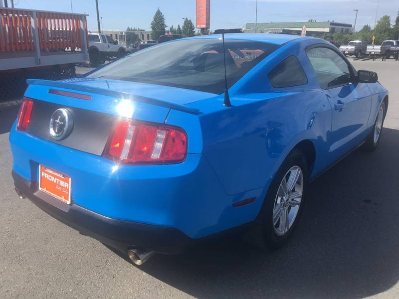 2011 Ford Mustang for sale at Frontier Auto Sales in Anchorage AK